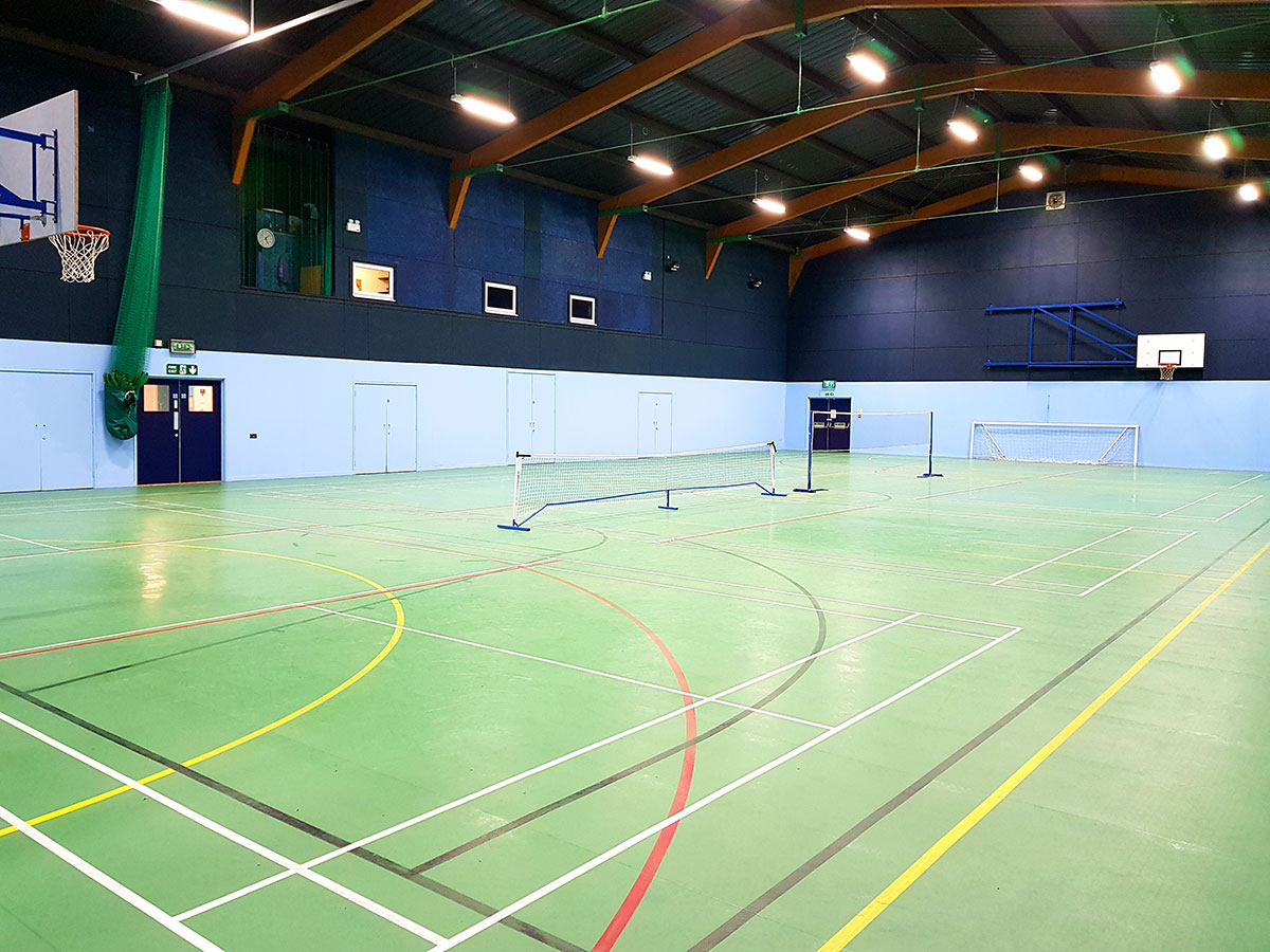 Downton Leisure Centre Main Hall 01